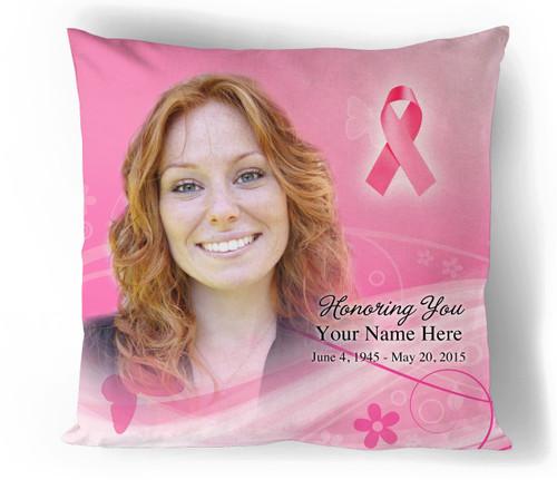 Awareness In Loving Memory Memorial Pillows
