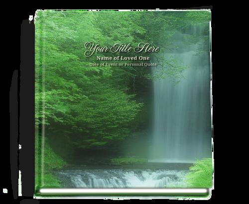 Cascade funeral guest book