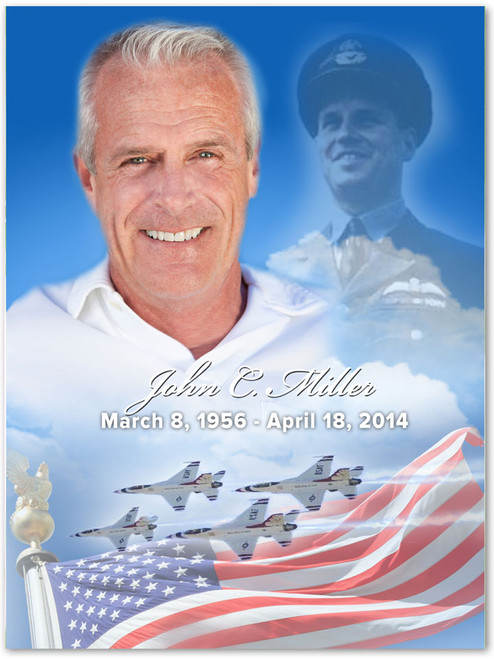 Air Force Memorial Portraits Poster