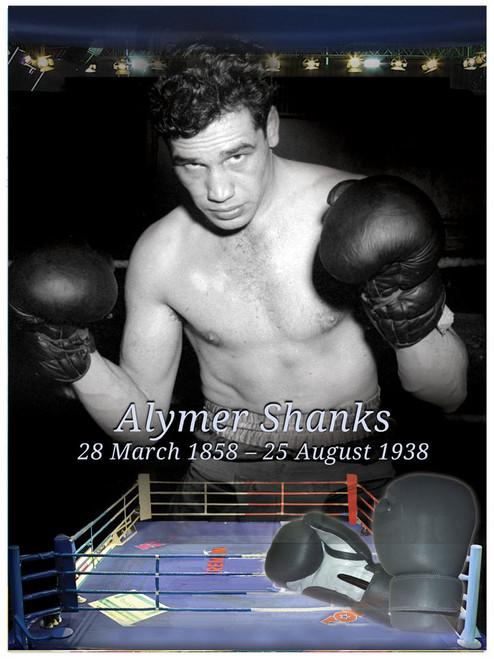 Boxing In Loving Memory Memorial Portrait Poster