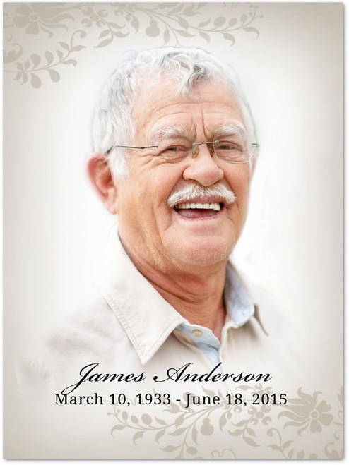 Ceasar In Loving Memory Memorial Portrait Poster