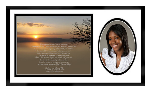 Kenya In Loving Memory Memorial Frame Plaque Keepsake