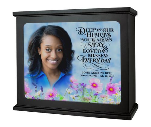 In Loving Memory Photo Light Box Memorial