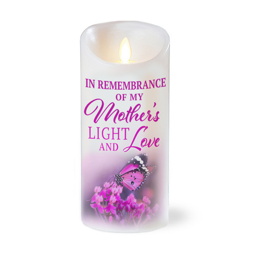 Mother Light Love Dancing Wick LED Candle