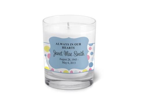Addison Memorial Votive Candle