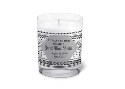 Emma Memorial Votive Candle