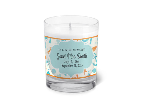 Seabreeze Memorial Votive Candle