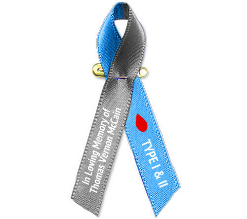 diabetes awareness ribbons