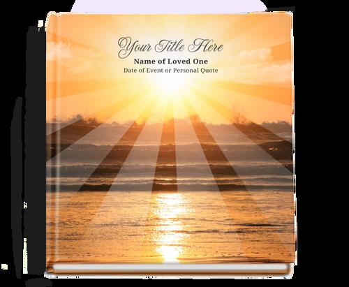 sunrise funeral guest book