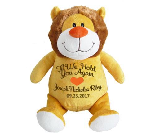 Leo Lion Memorial Stuffed Animal/Urn