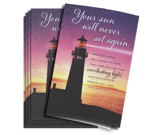 Everlasting Light Memorial Paper