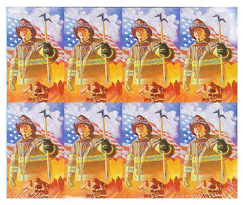 Firefighter Fireman Prayer Card Paper (Set of 8)