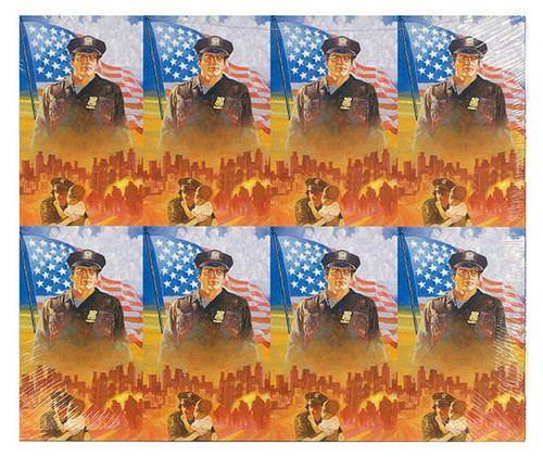 Policeman Officer Prayer Card Paper (Set of 8)