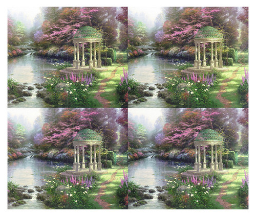 Thomas Kinkade® Garden of Prayer Card Paper (Set of 8)