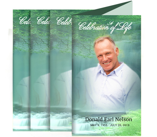 Cascade Funeral Trifold Brochure Design & Print (Pack of 25)