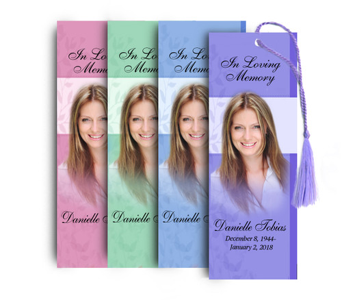 Ambience Memorial Bookmark Design & Print (Pack of 25)