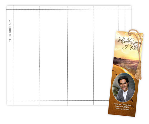 Bookmark Perforated Paper Sheet (Pack of 3)