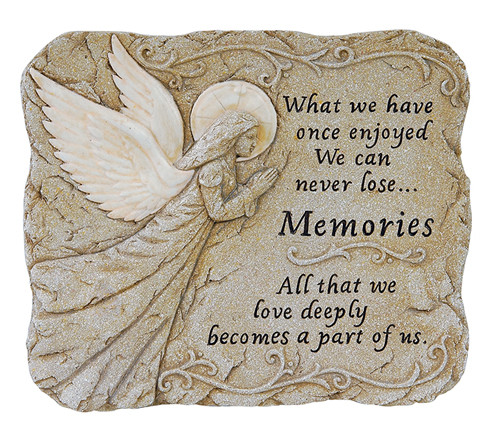 Personalized Memories Memorial Garden Stone