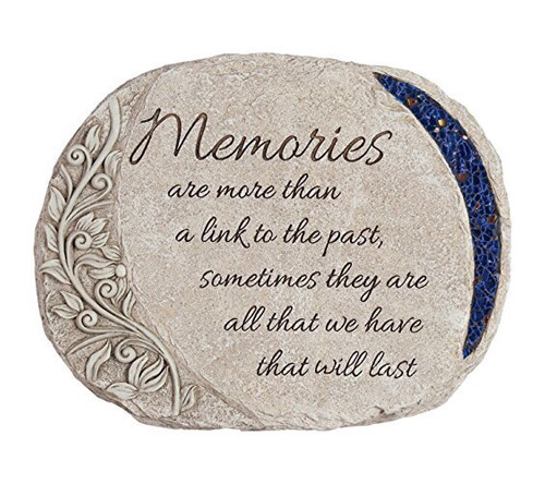 Personalized Memories Glow In The Dark Memorial Stone