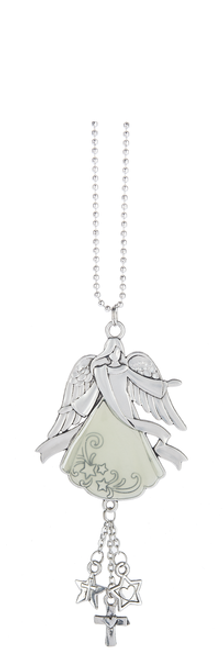 Angel Watch Over Us Memorial Car Charm