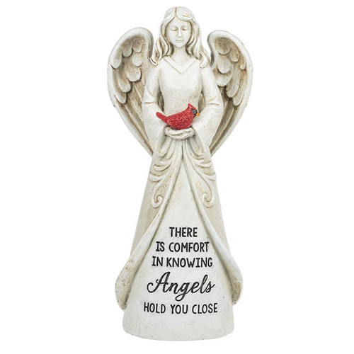 Comfort Cardinal Memorial Angel Figurine