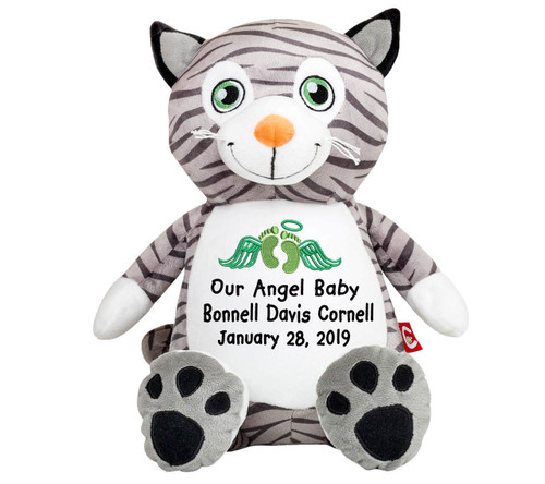 Kitty Cat Memorial Stuffed Animal Urn