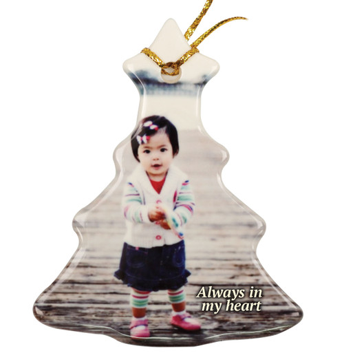 Christmas Tree Ceramic In Loving Memory Christmas Ornament