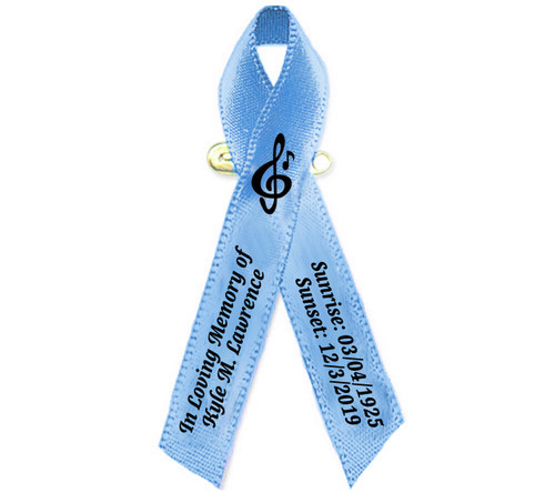 Musician Personalized Cancer Ribbon