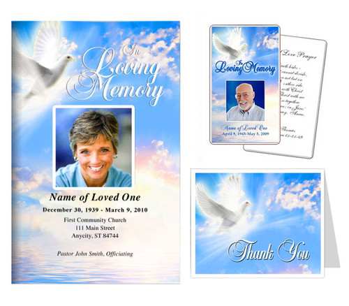 Funeral Templates Set - Peace