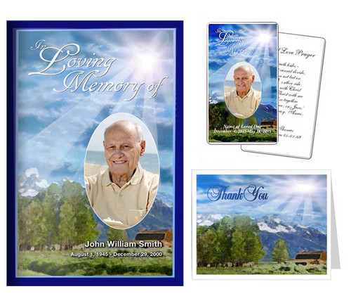 Funeral Templates Set - Outdoor