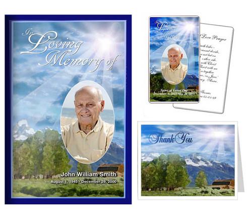 Funeral Templates Set - Outdoor