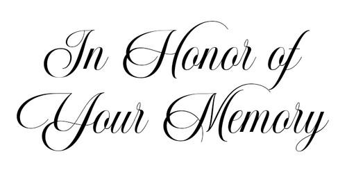 Funeral Program Font - Nathalia