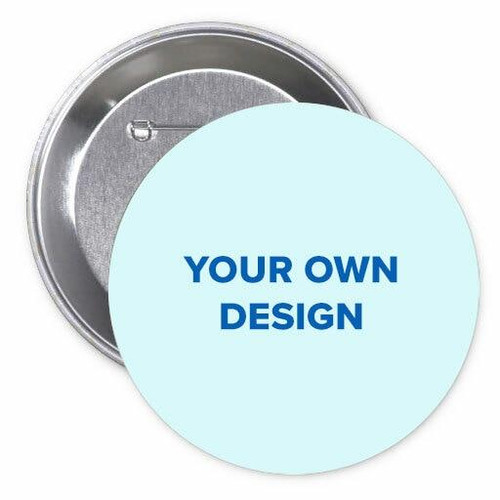 Custom Memorial Button Pin Your Design