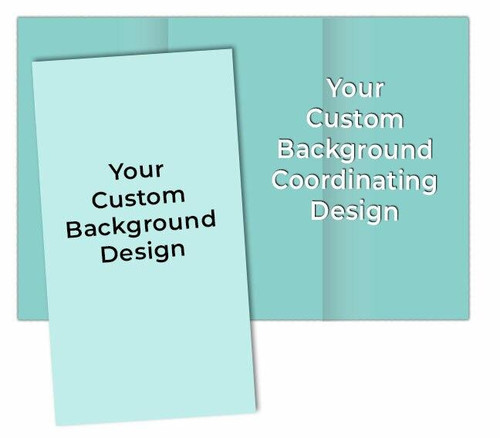 Your Design Custom Funeral Brochure Template (Tabloid Size)