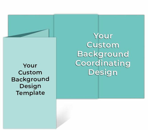 Your Design Trifold Custom Funeral Brochure Template