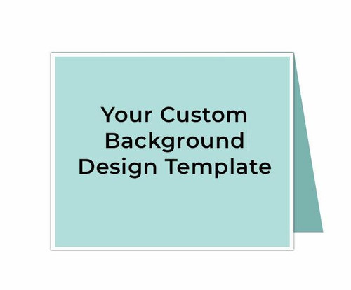Your Design Custom Thank You Card Template