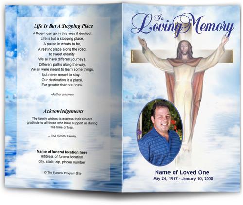 Assurance Funeral Program Template