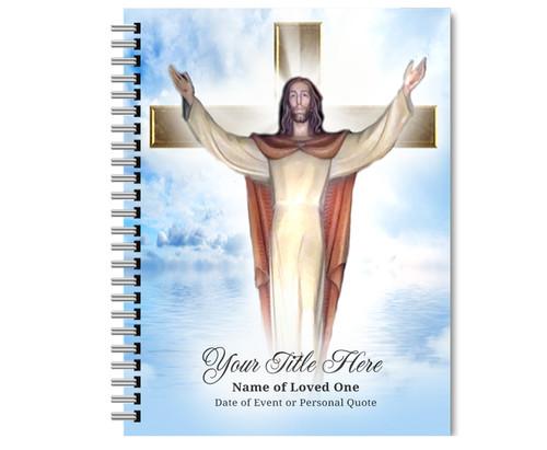 Assurance Spiral Wire Bind Memorial Guest Book