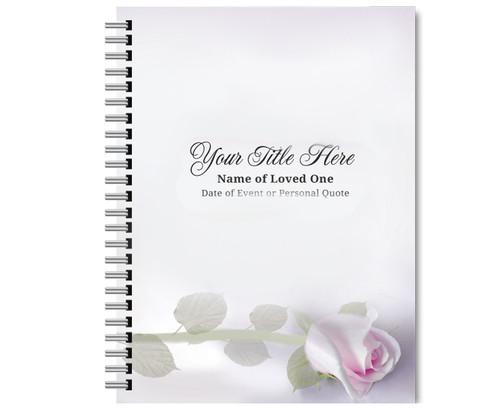 Beloved Spiral Wire Bind Memorial Guest Book