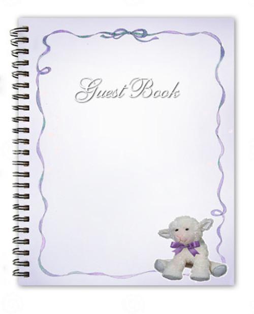 Dreamstime Spiral Wire Bind Memorial Guest Book Registry