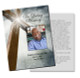 Eternal Enlighten DIY Funeral Card Template