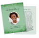 Kwanzaa DIY Funeral Card Template