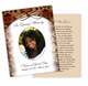 Messenger DIY Funeral Card Template