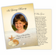 Seashore DIY Funeral Card Template