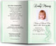 angela green Funeral Program Template