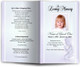 angela lavender Funeral Program Template