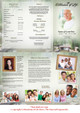 Bridge DIY Legal Funeral Tri Fold Brochure Template inside view
