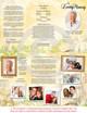 Cherub DIY Legal Funeral Tri Fold Brochure Template inside view