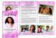 Glitter Legal Funeral Tri Fold Brochure Template