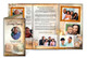 History DIY Funeral Tri Fold Brochure Template